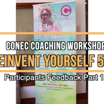 Reinvent Yourself 50+ workshop – participants feedback Pt 1