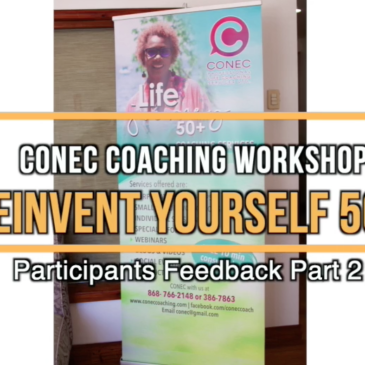 Reinvent Yourself 50+workshop – participants feedback Pt 2